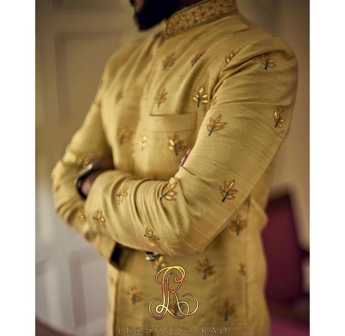 Bridal attire's by Lekshviya Rao Label - 031