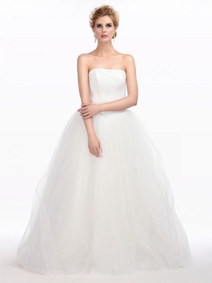 Brides Gown by AWEI Bridal - 005