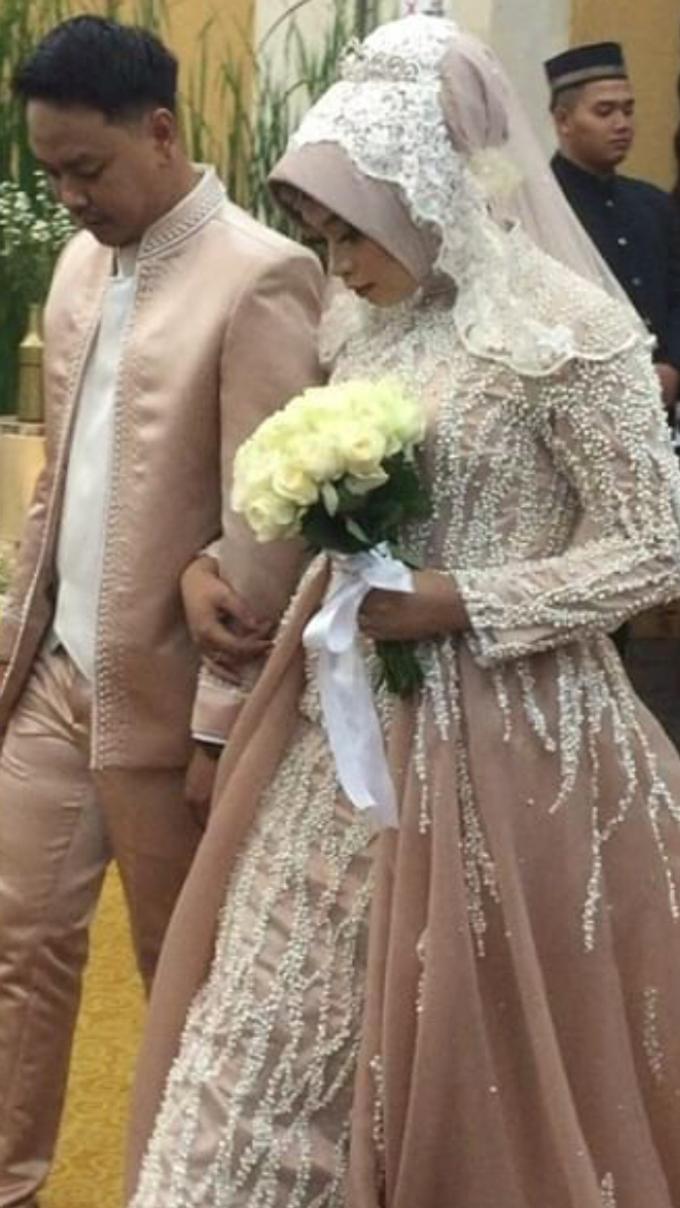 Weddinggown moslem by Leny Rafael Bride - 001