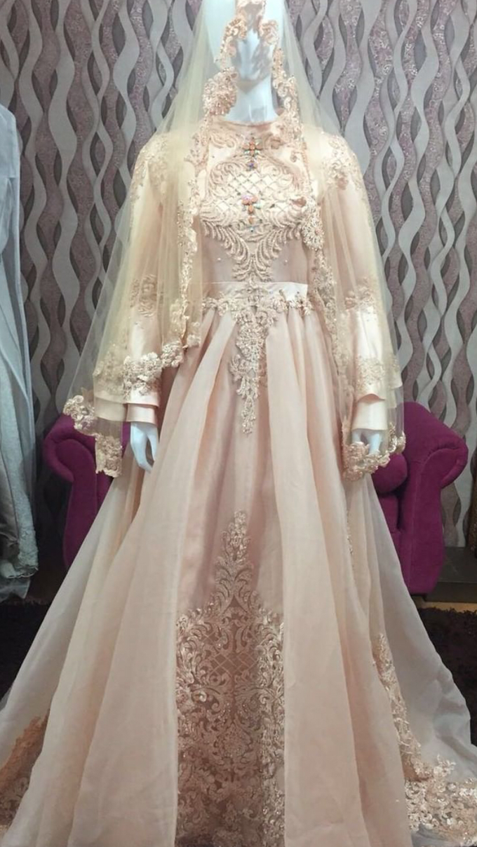 Weddinggown moslem by Leny Rafael Bride - 005