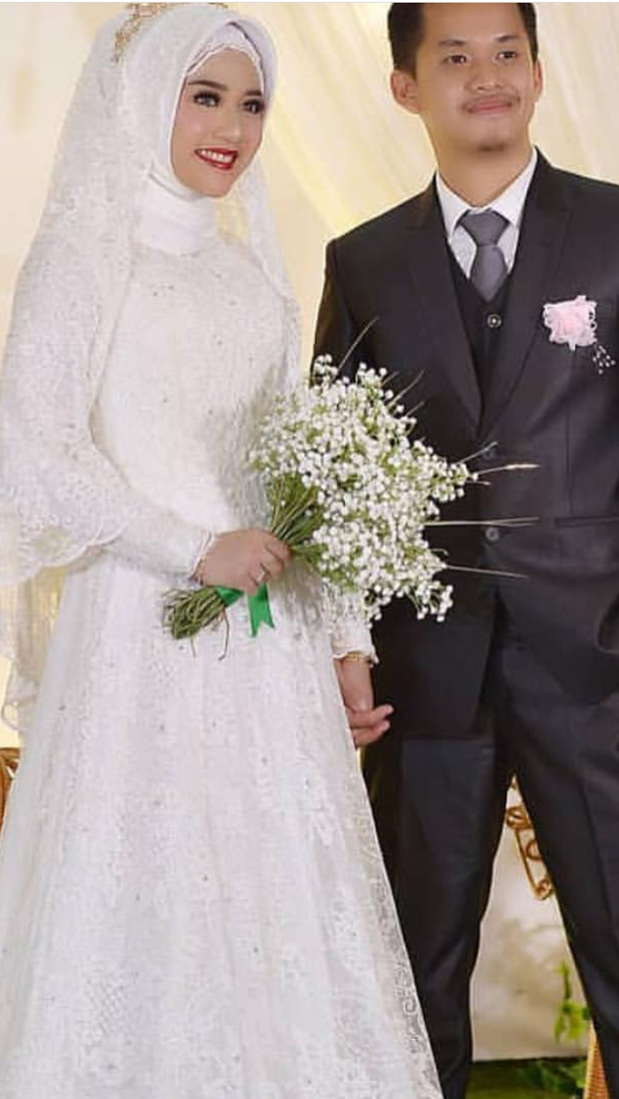 Weddinggown moslem by Leny Rafael Bride - 004