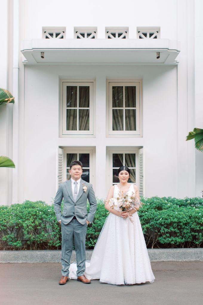 Feny & Nico at Bunga Rampai by Double Happiness Wedding Organizer - 021