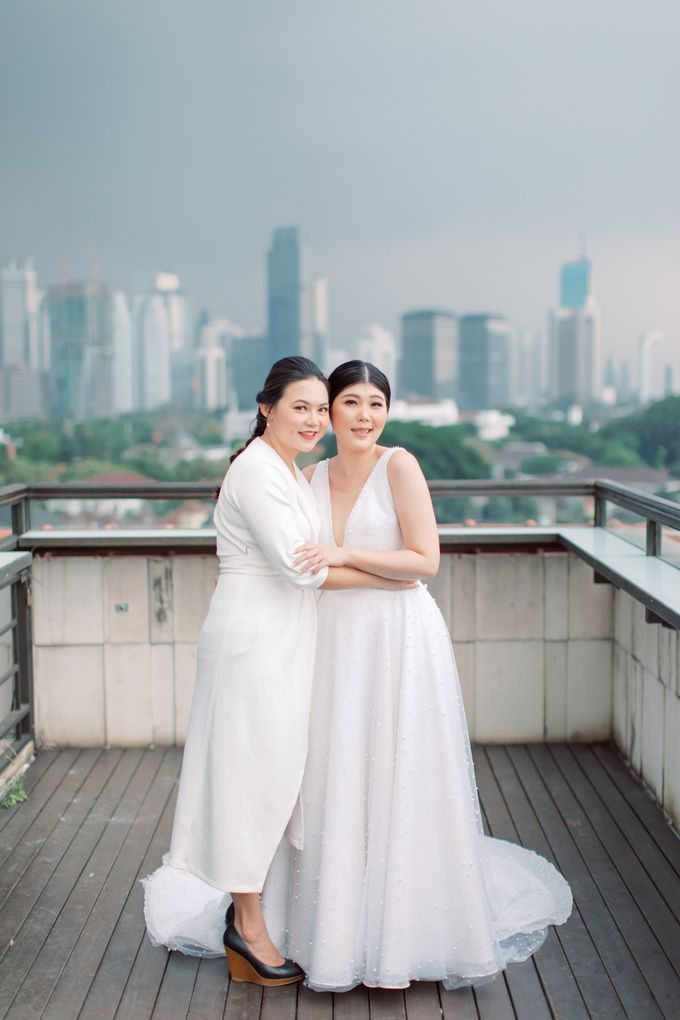 Feny & Nico at Bunga Rampai by Double Happiness Wedding Organizer - 030