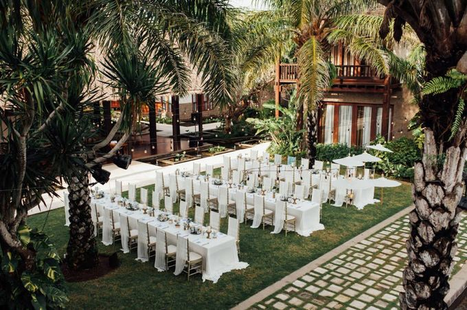 Whimsical Tropical Wedding at Stone House by Tirtha by Tirtha Bali - 038