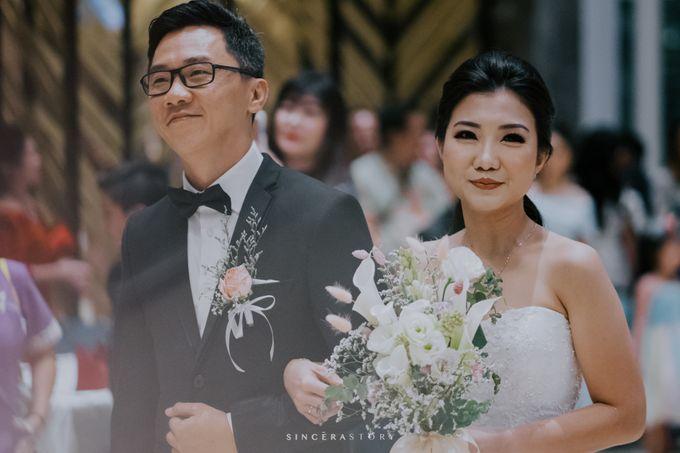 Audy & Indah Wedding Day by Reverose Flower Studio - 003