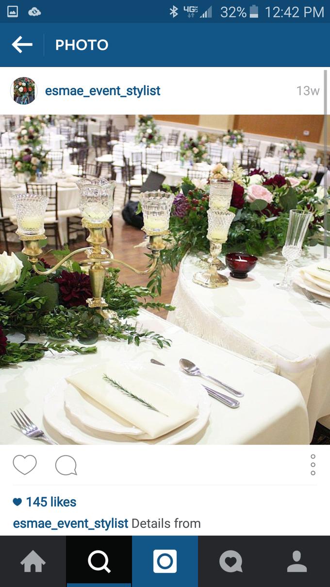 Romantic Wedding by Esmae Event Floral Design - 005