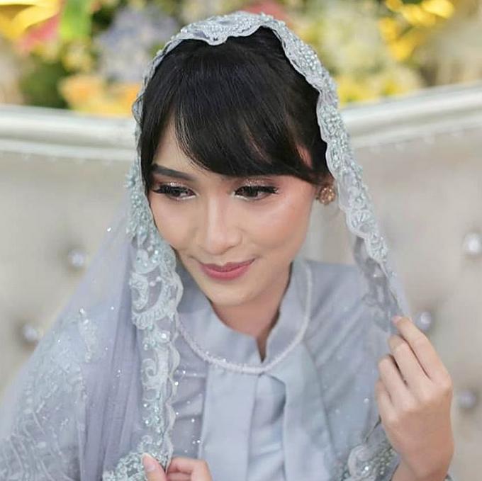 Pengajian & Akad Amalia Wedding by Make Up by Mutiara Fallahdani - 006