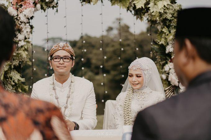 Lia and Ranggi Wedding Decoration by AKSA Creative - 002