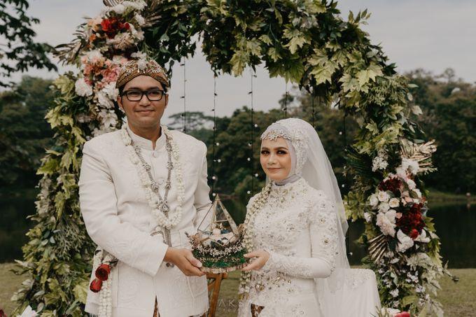 Lia and Ranggi Wedding Decoration by AKSA Creative - 006