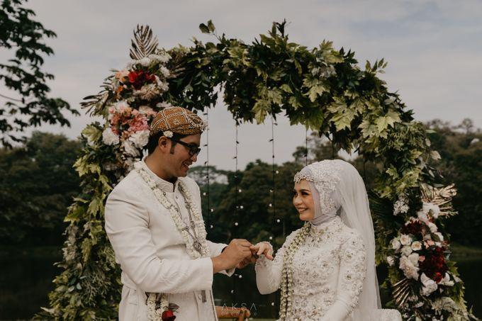 Lia and Ranggi Wedding Decoration by AKSA Creative - 007