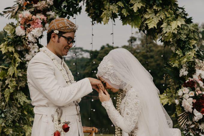 Lia and Ranggi Wedding Decoration by AKSA Creative - 008