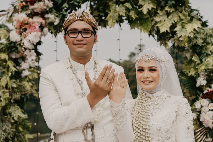 Lia and Ranggi Wedding Decoration by AKSA Creative - 009