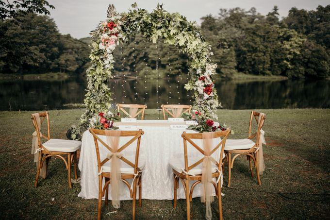 Lia and Ranggi Wedding Decoration by AKSA Creative - 026