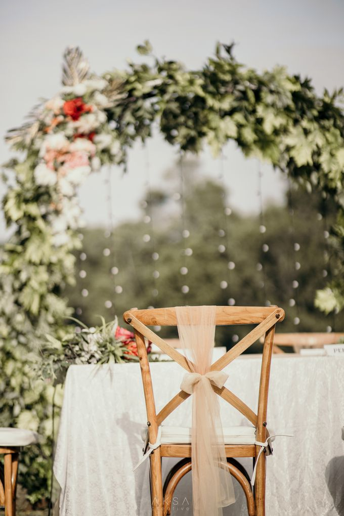 Lia and Ranggi Wedding Decoration by AKSA Creative - 017