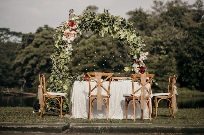 Lia and Ranggi Wedding Decoration by AKSA Creative - 025
