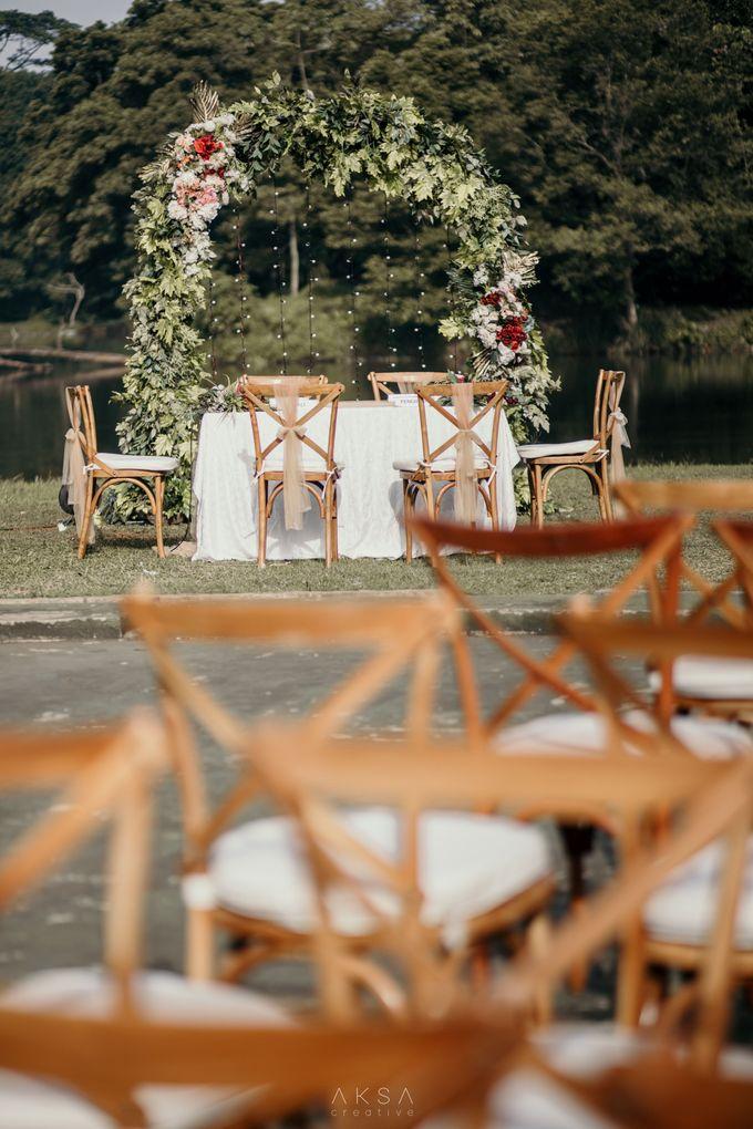 Lia and Ranggi Wedding Decoration by AKSA Creative - 022