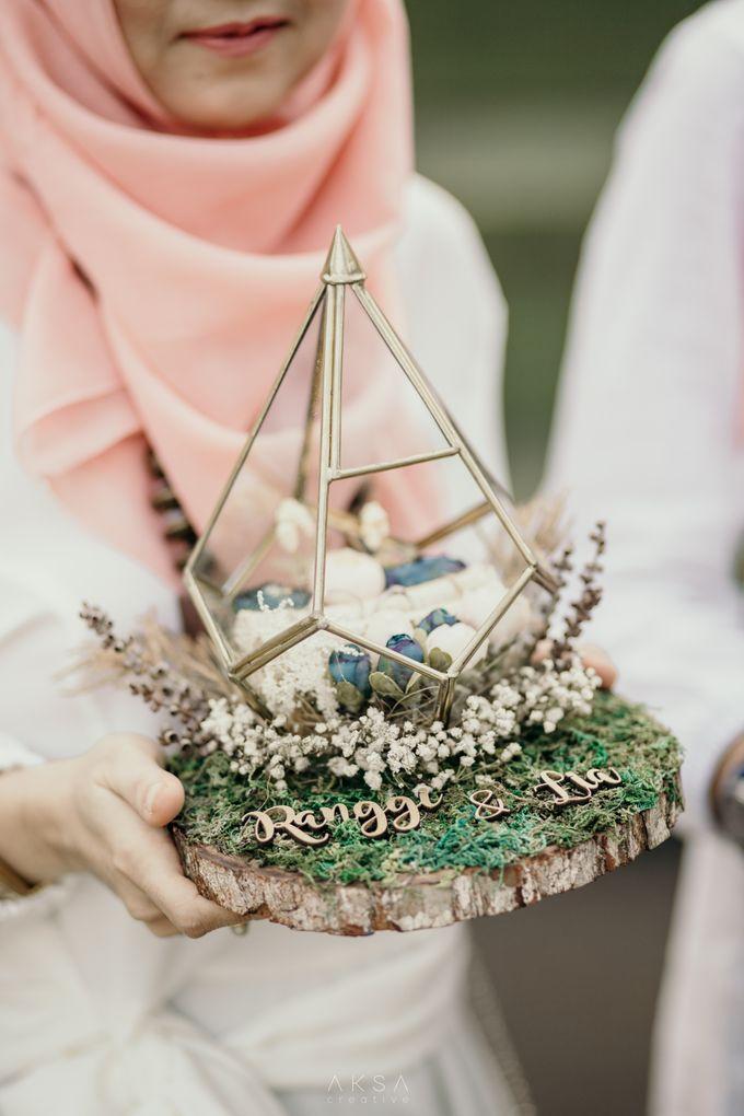 Lia and Ranggi Wedding Decoration by AKSA Creative - 018