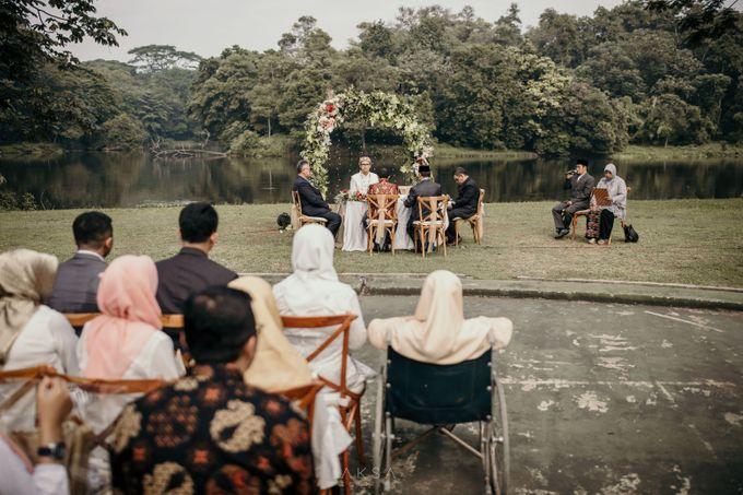 Lia and Ranggi Wedding Decoration by AKSA Creative - 024