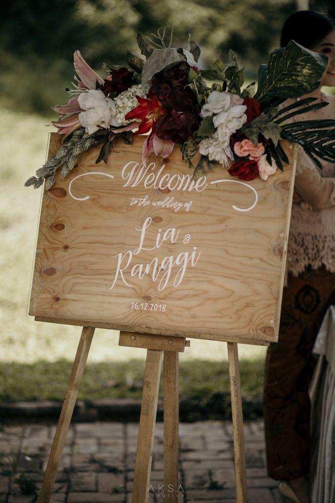 Lia and Ranggi Wedding Decoration by AKSA Creative - 019