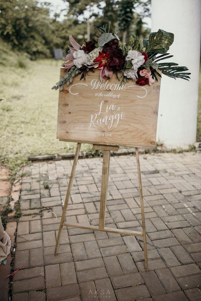 Lia and Ranggi Wedding Decoration by AKSA Creative - 020