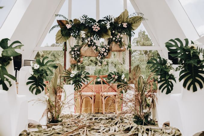 The Wedding of Lidia Dhany by Elior Design - 002
