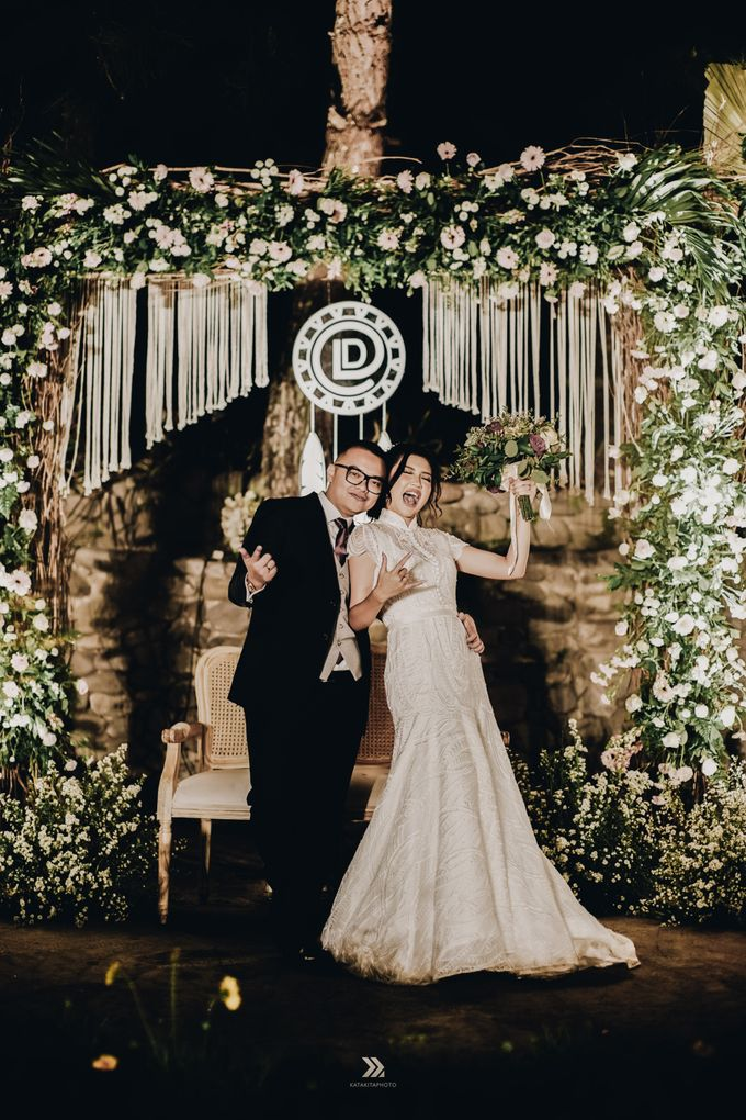 The Wedding of Lidia Dhany by Elior Design - 006