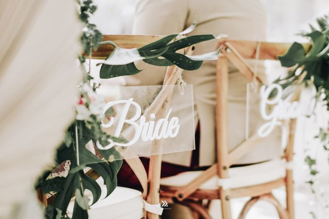 The Wedding of Lidia Dhany by Elior Design - 004