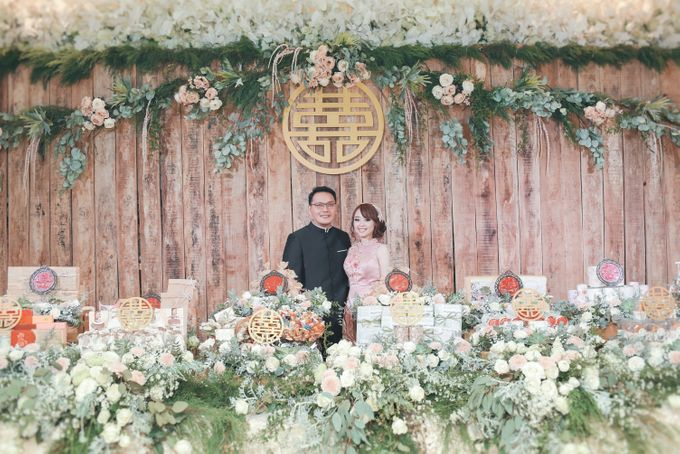 Engagement Party Of Tjipto & Devi by Jasmine Florist - 003