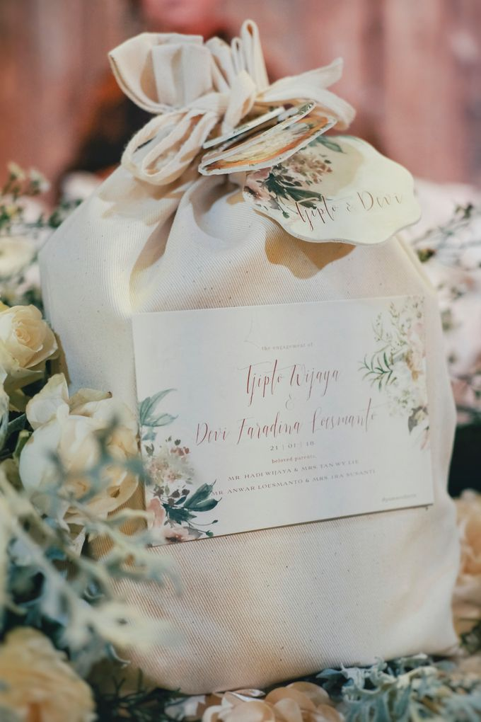 Engagement Party Of Tjipto & Devi by Jasmine Florist - 006