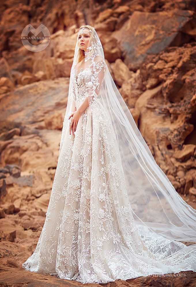 Weddiong Collection 2019 by OKSANA MUKHA - 017