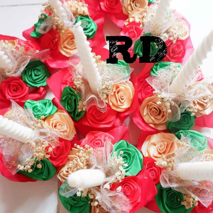 candle decoration - jakarta by ribbondecoration - 002