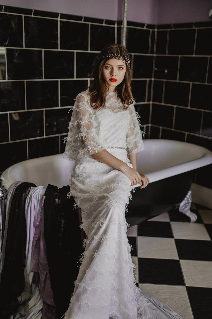 Black Opulence by Fancy Bowtique Bridal Couture - 006