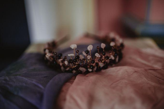 Black Opulence by Fancy Bowtique Bridal Couture - 009