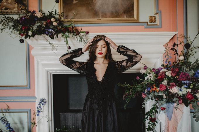 Black Opulence by Fancy Bowtique Bridal Couture - 001