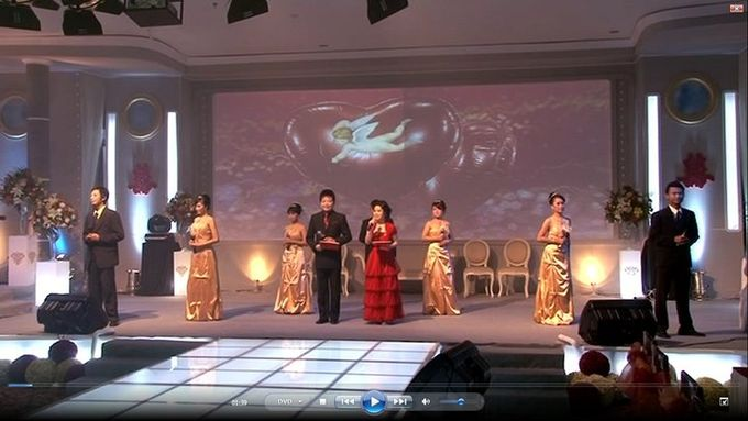 Engagement Reception of Lini & Qi Ming by MC Mandarin Linda Lin - 001