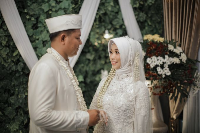 Akad Of Elly & Rizal by LAKSMI - Kebaya Muslimah & Islamic Bride - 013