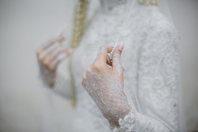 Akad Of Elly & Rizal by LAKSMI - Kebaya Muslimah & Islamic Bride - 005