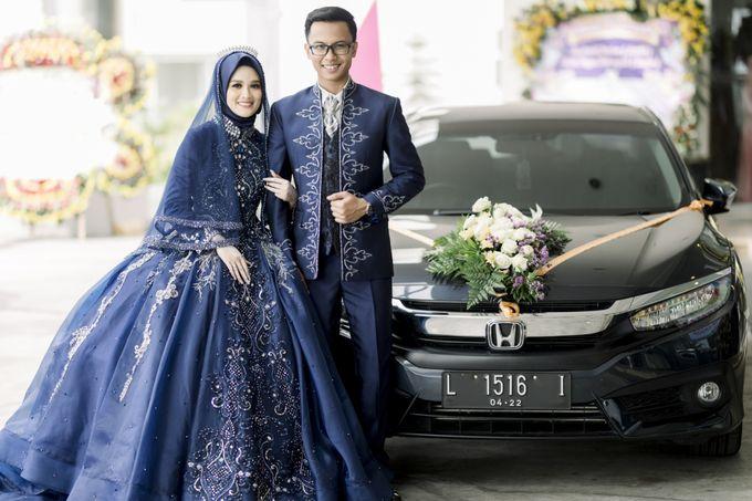 The Wedding Of Astrid & Bagas by LAKSMI - Kebaya Muslimah & Islamic Bride - 009