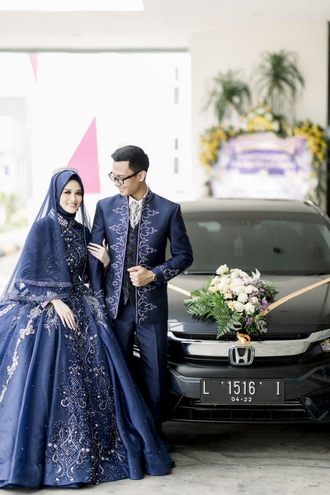 The Wedding Of Astrid & Bagas by LAKSMI - Kebaya Muslimah & Islamic Bride - 006