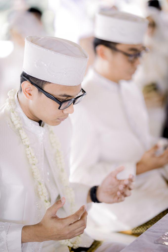 The Wedding Of Astrid & Bagas by LAKSMI - Kebaya Muslimah & Islamic Bride - 001