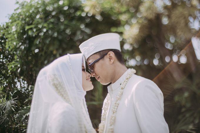 The Wedding Of Astrid & Bagas by LAKSMI - Kebaya Muslimah & Islamic Bride - 010