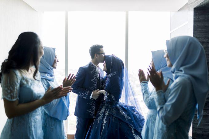 The Wedding Of Astrid & Bagas by LAKSMI - Kebaya Muslimah & Islamic Bride - 002
