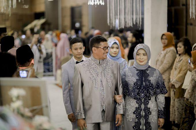 The Wedding Of Astrid & Bagas by LAKSMI - Kebaya Muslimah & Islamic Bride - 008