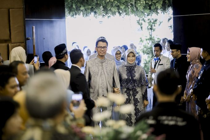 The Wedding Of Astrid & Bagas by LAKSMI - Kebaya Muslimah & Islamic Bride - 004