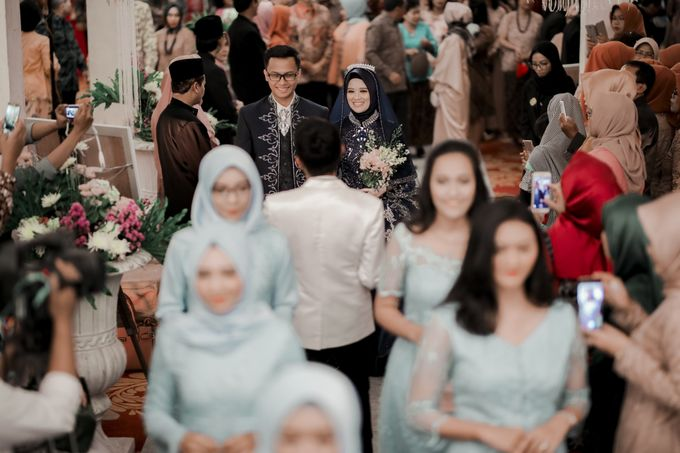 The Wedding Of Astrid & Bagas by LAKSMI - Kebaya Muslimah & Islamic Bride - 005