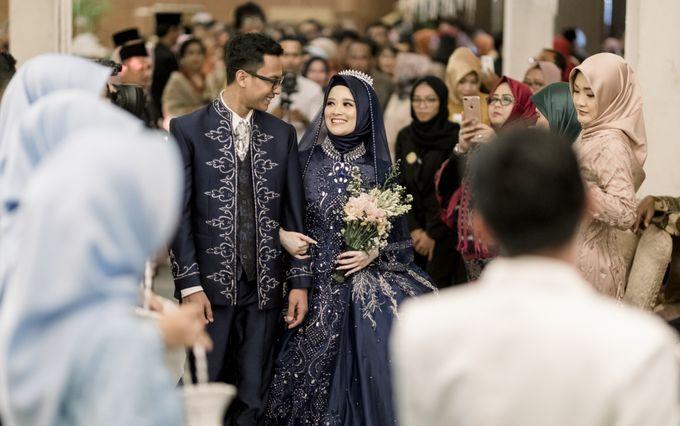 The Wedding Of Astrid & Bagas by LAKSMI - Kebaya Muslimah & Islamic Bride - 007
