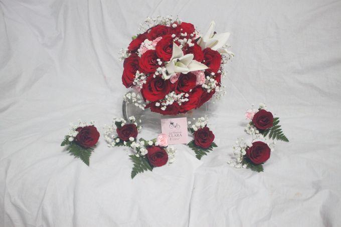 wedding Bouquet by La Fleuriste Clara - 010