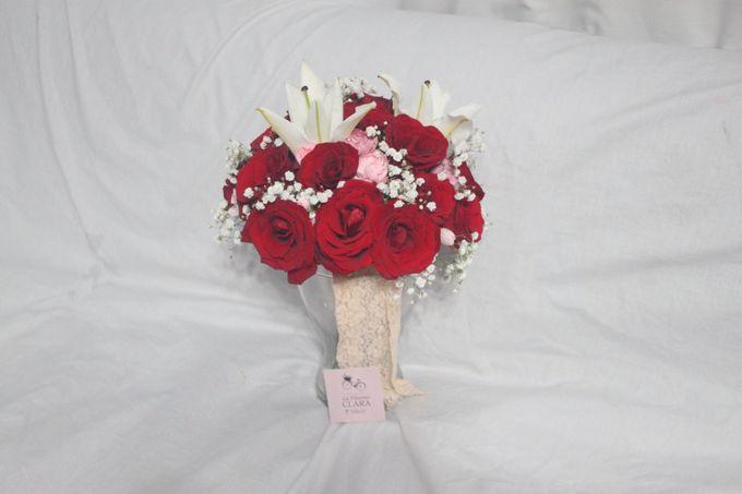 wedding Bouquet by La Fleuriste Clara - 011