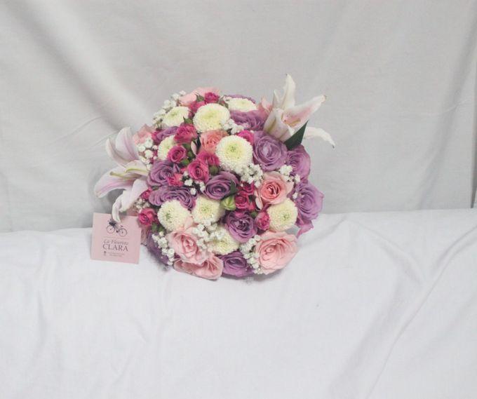 wedding Bouquet by La Fleuriste Clara - 018