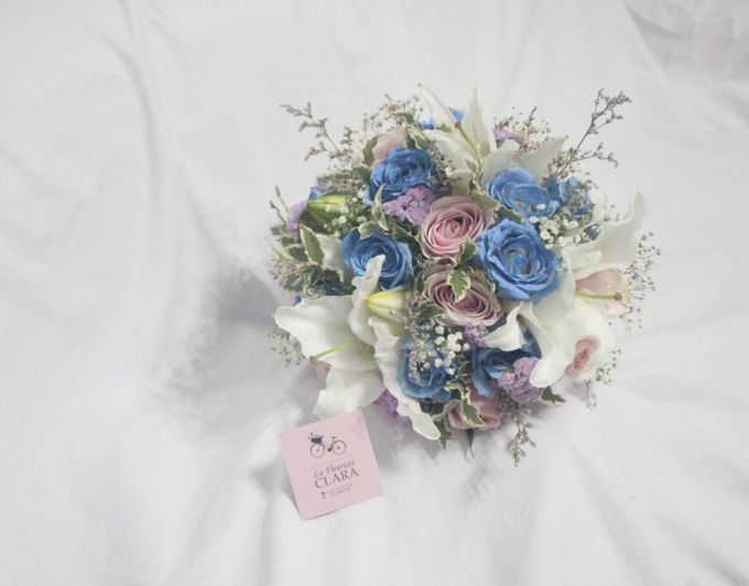 wedding Bouquet by La Fleuriste Clara - 020